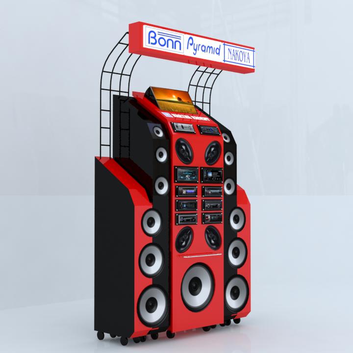 Audio Equipment Display