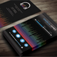 Modern Music Business Card - GraphicRiver Item for Sale