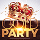 Gold Party Flyer | Special Birthday - GraphicRiver Item for Sale