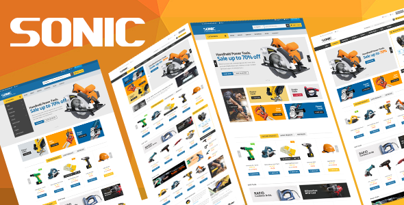 Sonic - Responsive Opencart Theme - Miscellaneous OpenCart