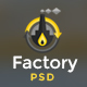 Factory Industrial - Engineering & Industrial PSD Template - ThemeForest Item for Sale