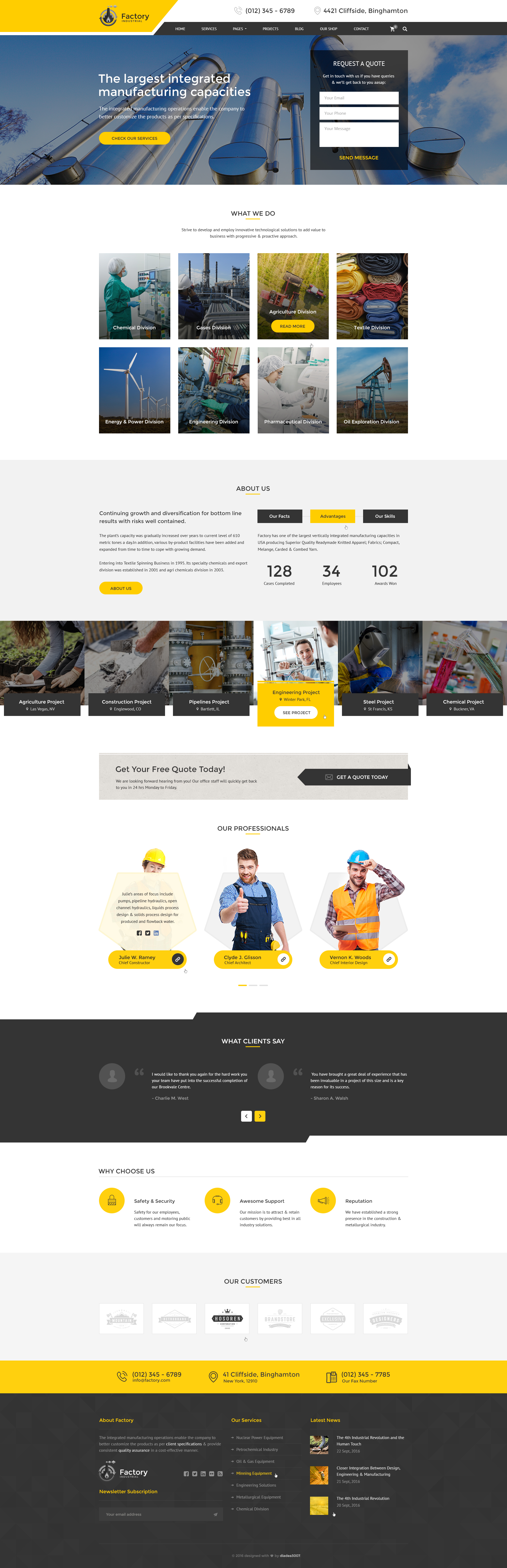engineering website templates hola klonec co