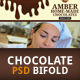 Chocolate Bi-Fold Brochure - GraphicRiver Item for Sale