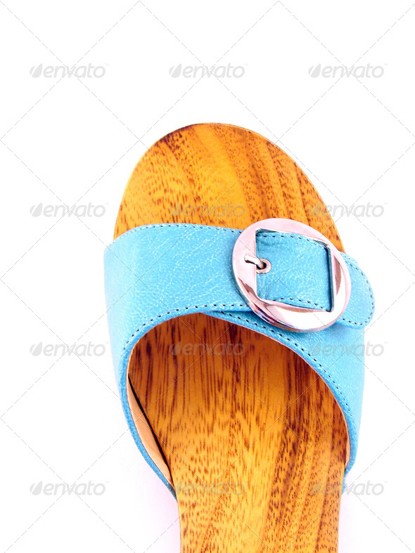 woman shoe isolated - Stock Photo - Images