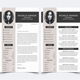 Resume Template for Photoshop - GraphicRiver Item for Sale