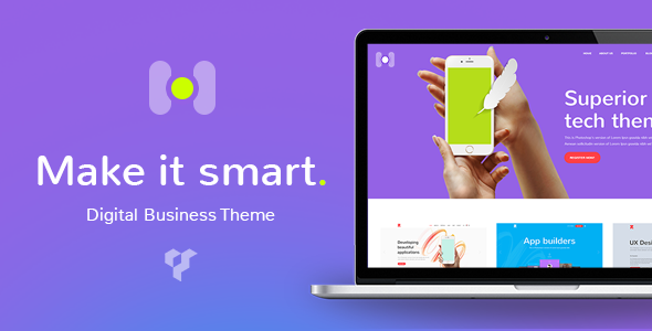 Hotspot - A Modern and Smart Theme for Digital Business - Technology WordPress
