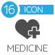 Medicine Icons - GraphicRiver Item for Sale