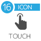 Touch Gestures Icons - GraphicRiver Item for Sale