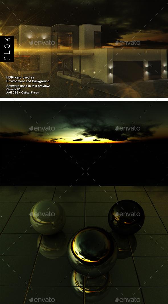 Sunset Desert 81 - 3DOcean Item for Sale