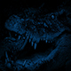 Crocodile At Night Opens Mouth - VideoHive Item for Sale