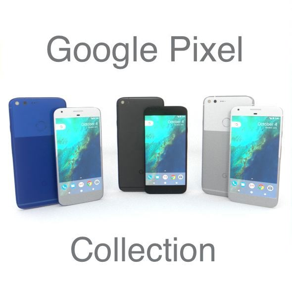 Google Pixel Collection - 3DOcean Item for Sale