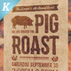 Pig Roast Flyer Templates - GraphicRiver Item for Sale
