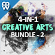Creative Arts Photoshop Action Bundle v2 - GraphicRiver Item for Sale