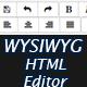 WYSIWYG HTML Editor - Bootstrap based Rich Text Editor