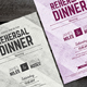 Dinner Invitation - GraphicRiver Item for Sale