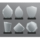 Glass Transparent Trophy Awards. - GraphicRiver Item for Sale