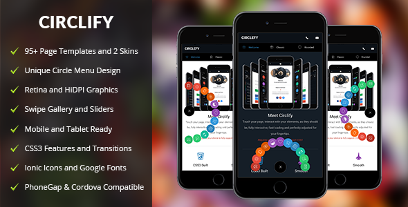 Circlify Mobile | Mobile Template