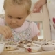 On Girl Helping To Prepare Muffins - VideoHive Item for Sale