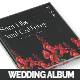Vintage Floral Wedding Photobook/Album - GraphicRiver Item for Sale