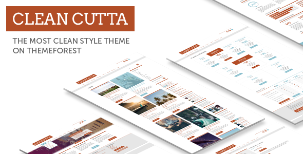 Clean Multi-Purpose WP Theme