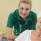 Nurse Smiles For Female Patient - VideoHive Item for Sale