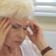 Senior Woman Has a Headache - VideoHive Item for Sale
