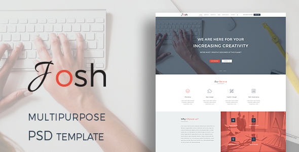 Josh – Multipurpose PSD Template