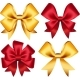 Set Of Colorful Gift Bows. Vector Illustration - GraphicRiver Item for Sale