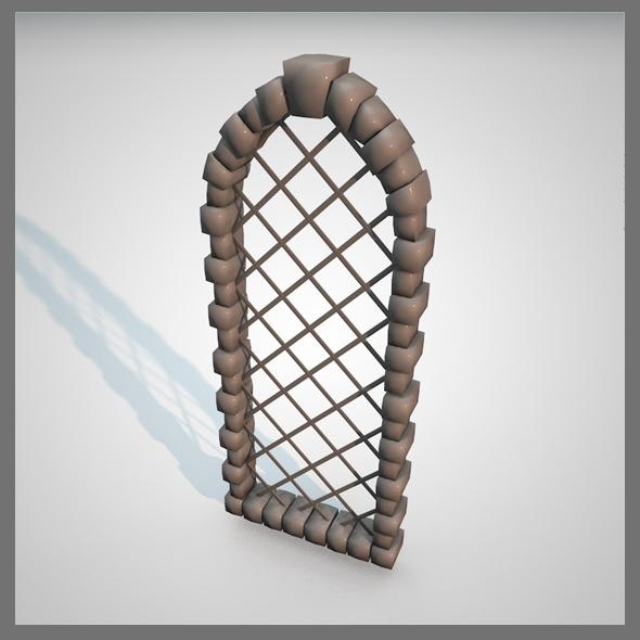 Window Castle - 3DOcean Item for Sale