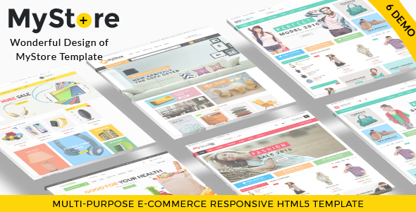 MyStore- Ultimate E-Commerce Responsive HTML5 Template