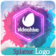 Splatter Logo - VideoHive Item for Sale