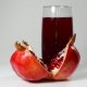 Pomegranate Juice In a Glass And Ripe Pomegranate - VideoHive Item for Sale
