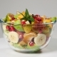 A Fruit Salad With Mandarin, Oranges, Kiwi, Pomegranate Seeds, Figs, Banana And Peaches - VideoHive Item for Sale