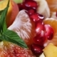 Fruit Salad With Mandarin, Oranges, Kiwi, Pomegranate Seeds, Figs, Banana and Peaches - VideoHive Item for Sale