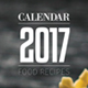 Food Recipe Calendar 2017 - GraphicRiver Item for Sale