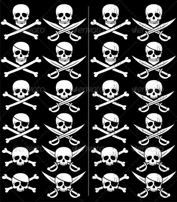 Jolly Roger - Decorative Symbols Decorative
