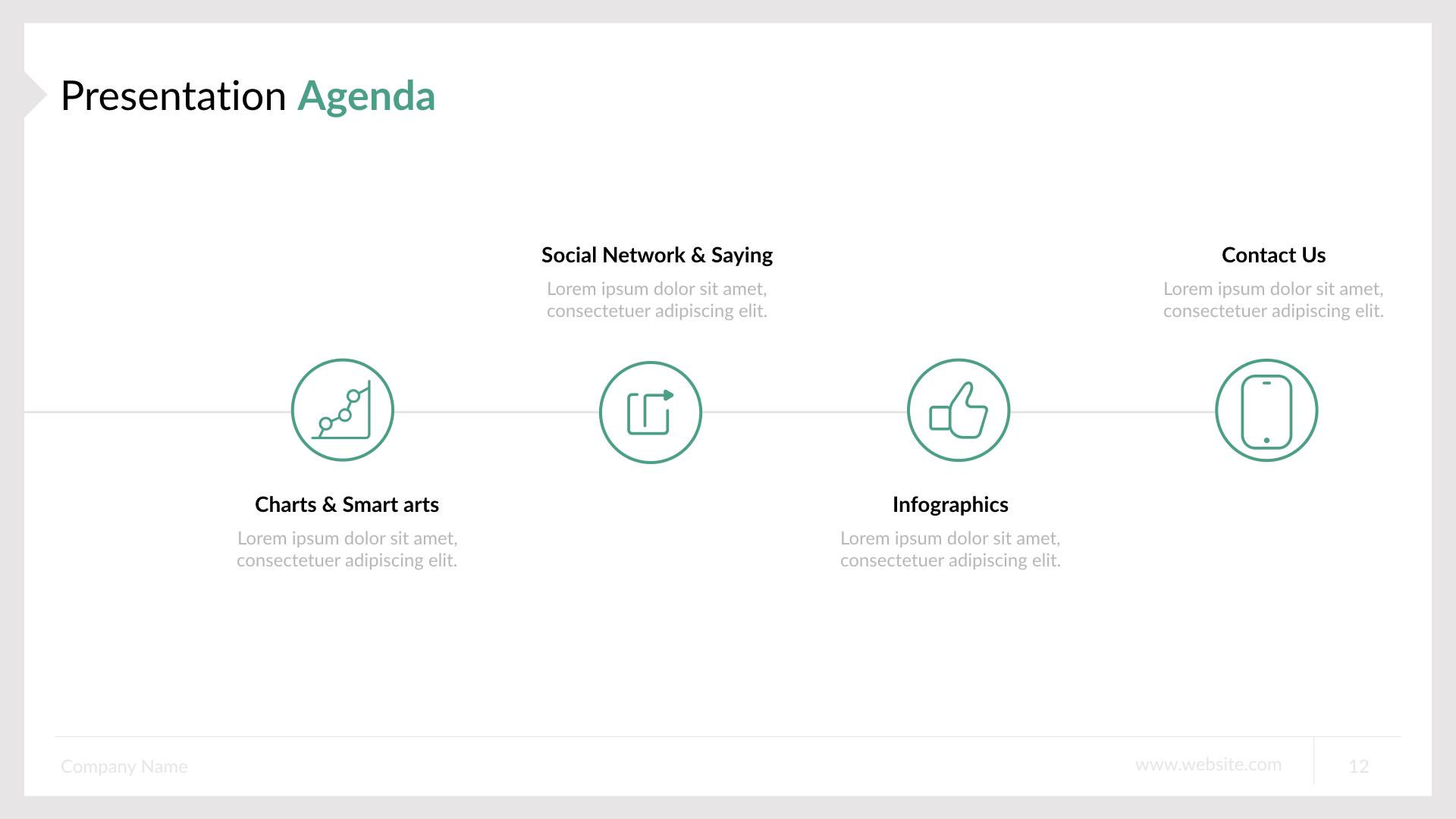Business Keynote Presentation Template By Spriteit Graphicriver