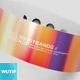 Vinyl Wristbands Mockup - GraphicRiver Item for Sale