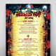 Halloween Party  Menu - GraphicRiver Item for Sale