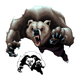Angry Brown Bear - GraphicRiver Item for Sale