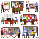 Flat Design Office Workers - GraphicRiver Item for Sale