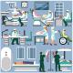 Flat Design Medical People - GraphicRiver Item for Sale