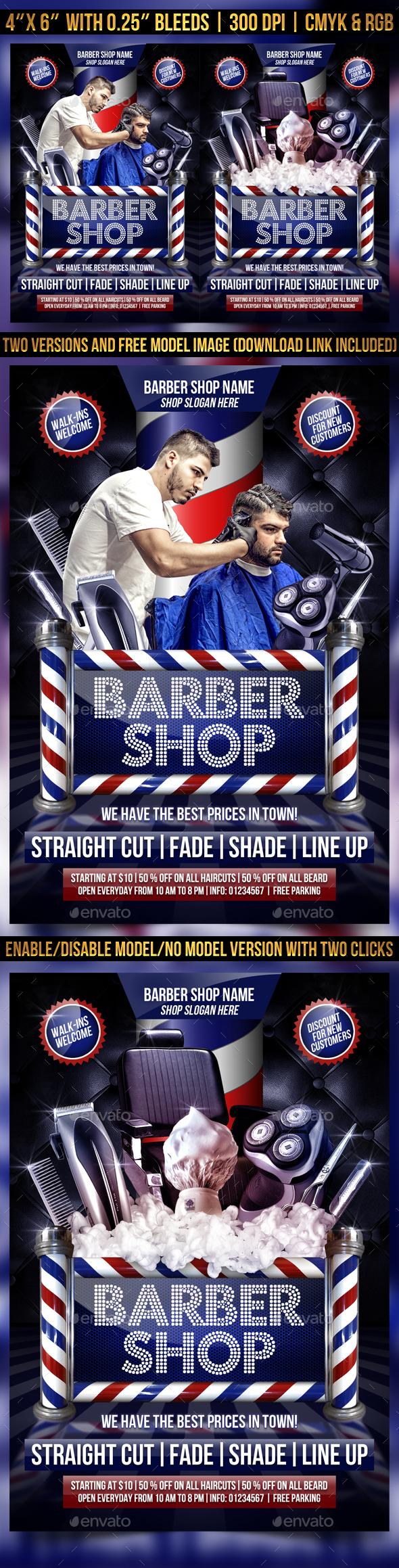 barber flyer