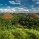 Panorama Of The Chocolate Hills in Bohol, Philippines. August 2016 - VideoHive Item for Sale