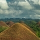View Over The Famous Chocolate Hills On Bohol, Philippines.   - August 2016, Bohol, Panglao - VideoHive Item for Sale