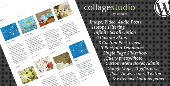 CollageStudio - Blog / Magazine WordPress