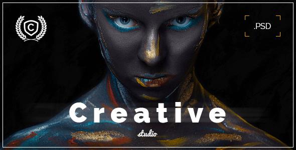 Creative Studio – Landing Page PSD