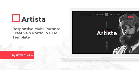 Artista – Responsive Multi-Purpose Creative & Portfolio HTML Template