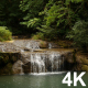 Waterfall In Forest - VideoHive Item for Sale