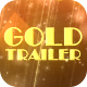 Gold Parallax Trailer Slideshow - VideoHive Item for Sale